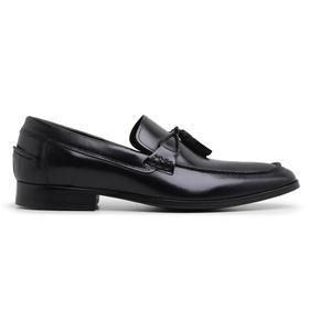Sapato Social Preto Couro Wood - 24535 - MADOK
