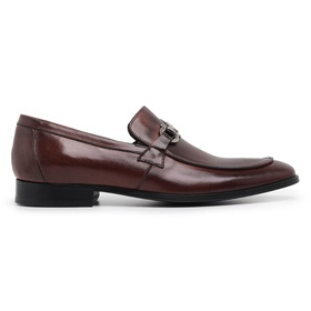 Sapato Social Couro Marrom Mouro - 58850 M - MADOK
