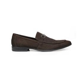 Sapato Casual Couro Café Nobuck - 58850 CF - MADOK