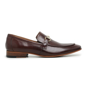 Sapato Social Couro Marrom Premium - 58850 M D - MADOK