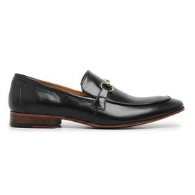 Sapato Social Couro Preto Premium - 58850 P D - MADOK