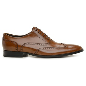 Sapato Social Couro Whisky Wood - 60402W MD - MADOK