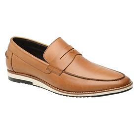 Sapato Casual Couro Caramelo - 24513 CRM - MADOK