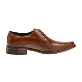 Sapato Social Couro Marrom Whisky - 54214 M LS - MADOK