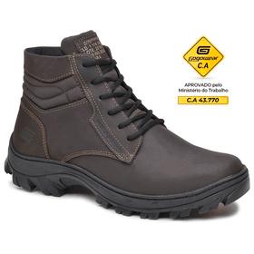 Bota Segurança EPI CA Gogowear 100% Couro ref Safe... - Loja Gogowear