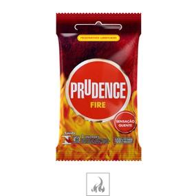 Preservativo Prudence Fire 3un (00384) - Padrão - atacadostar.com.br