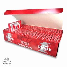 Preservativo The Best Ultra Fino Caixa Com 48x3un (15245) - ... - atacadostar.com.br