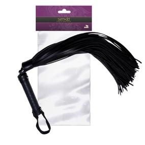 Chicote Premium 40cm (ST613-15399) - Preto - atacadostar.com.br
