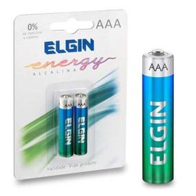Pilha Palito AAA Alcalina 2un Elgin Energy (15364) - Padrão - atacadostar.com.br