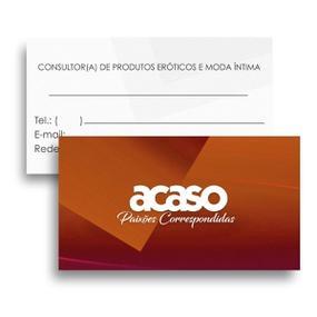 Cartão De Visita Com 50un Promocional (16996) - Padrão - atacadostar.com.br