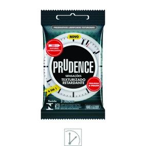 Preservativo Prudence Sensações Texturizado Retardante 3un (... - atacadostar.com.br