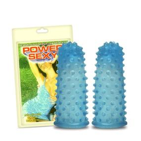 *Capa Para Dedo Power Sexy Com 2un (3307PS) - Pontilhada - atacadostar.com.br