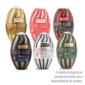 Masturbador Suger Eggs (6384) - Texturas Variadas - atacadostar.com.br