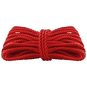 Corda Shibari 10m Dominatrixxx (DX1759-ST697) - Vermelho - atacadostar.com.br