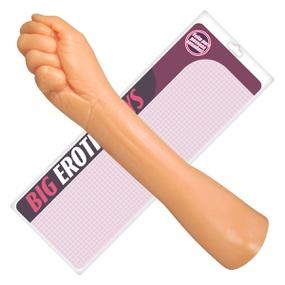 Prótese 35x23cm Hand Fist Punho (PR101-11070) - Bege - atacadostar.com.br