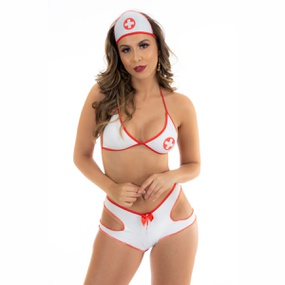 Fantasia Mini Médica Hot (PS7100) - Padrão - atacadostar.com.br