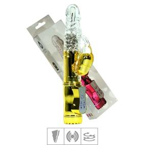 Vibrador Rotativo Coelhinho VP (RT002G-ST355) - Dourado - atacadostar.com.br