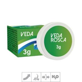 Excitante Unissex Veda Rosca Pomada 3g (SL1517) - Padrão - atacadostar.com.br