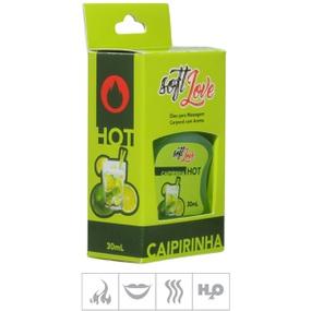 **Gel Comestível Soft Love Hot 30ml (ST116) - Caipirinha - atacadostar.com.br