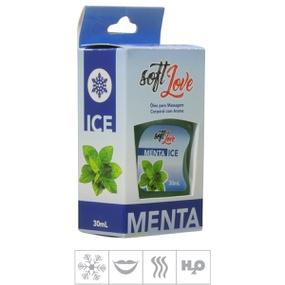 Gel Comestível Soft Love Ice 30ml (ST117) - Menta - atacadostar.com.br