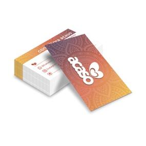 Cartão De Visita Com 50un - (ST247) - Mandala - atacadostar.com.br