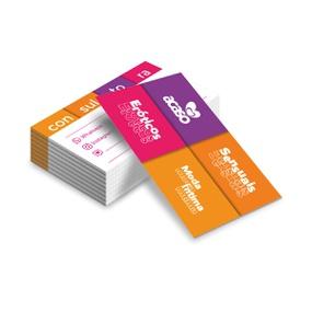 Cartão De Visita Com 50un - (ST247) - Soft - atacadostar.com.br