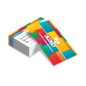 Cartão De Visita Com 50un - (ST247) - Tetris - atacadostar.com.br