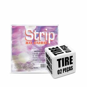 Dado Saquinho Unitário Div. Cubo (ST263) - Strip ao cubo - atacadostar.com.br