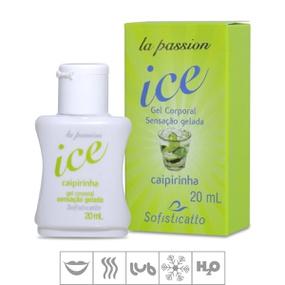 Gel Comestível La Passion Ice 20ml (ST503) - Caipirinha - atacadostar.com.br