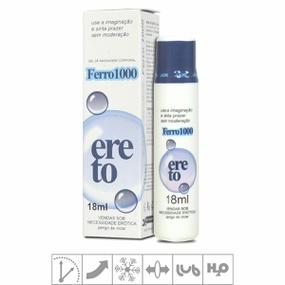 Excitante Masculino Ferro 1000 Ereto 18ml (SL052) - Padrão - atacadostar.com.br
