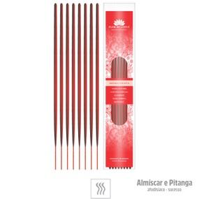 Incenso Artesanal 8 Varetas (ST133) - Almiscar e Pitanga - atacadostar.com.br