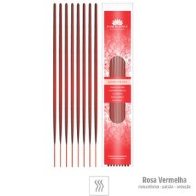 Incenso Artesanal 8 Varetas (ST133) - Rosa Vermelha - atacadostar.com.br