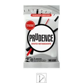 Preservativo Prudence Efeito Retardante 3un (00381) - Padrão - lojasacaso.com.br