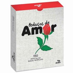 Pétalas Vermelhas Pedaços de Amor 150un (13849) - Padrão - lojasacaso.com.br