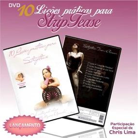 DVD Lucimara Siqueira 10 Lições Práticas Para Striptease (14... - lojasacaso.com.br