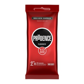 Preservativo Prudence Clássico 12un (17346) - Padrão - lojasacaso.com.br