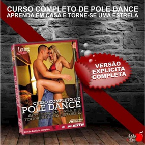 DVD Curso Completo De Pole Dance (LOV17-ST282) - Padrão - lojasacaso.com.br