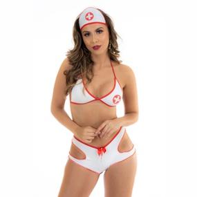 Fantasia Mini Médica Hot (PS7100) - Padrão - lojasacaso.com.br