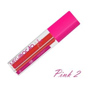 Batom Líquido Matte Megabocão (SL455) - Pink 2 - lojasacaso.com.br
