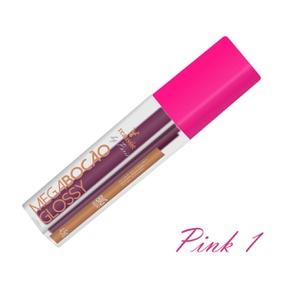 Batom Líquido Matte Megabocão (SL455) - Pink 1 - lojasacaso.com.br