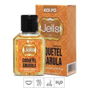 Gel Comestível Jells Hot 30ml - (ST106) - Coquetel Amarula - lojasacaso.com.br