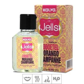 Gel Comestível Jells Hot 30ml - (ST106) - Cq Morango Champag... - lojasacaso.com.br