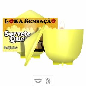 Vela Beijável Sorvete Quente 30g (ST148) - Beijinho - lojasacaso.com.br