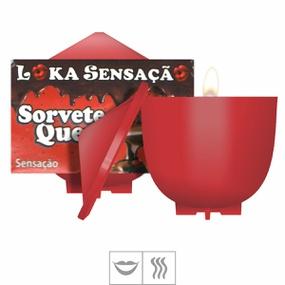 Vela Beijável Sorvete Quente 30g (ST148) - Sensação - lojasacaso.com.br