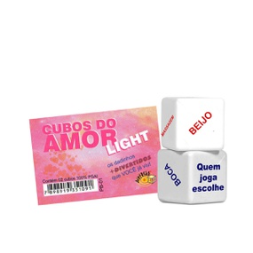 Dado Duplo Div (DC-ST267) - Cubos do Amor Light - lojasacaso.com.br