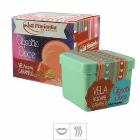 Vela Beijável Algodão Doce 50g (ST423) - Caramelo - lojasacaso.com.br