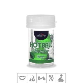 Bolinha Beijável Hot Ball Com 2un (ST579) - Menta - lojasacaso.com.br