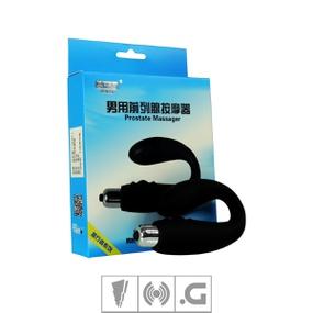Massageador de Próstata 10 vibrações VP (VB018) - Preto - lojasacaso.com.br