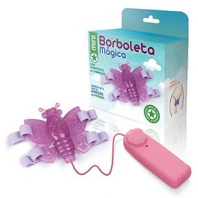 Borboleta Mágica AEE (MAS13-ST636) - Rosa - lojasacaso.com.br