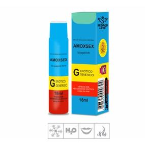 Gel Comestível Amoxsex 18ml (SL1471) - Hortelã - lojasacaso.com.br